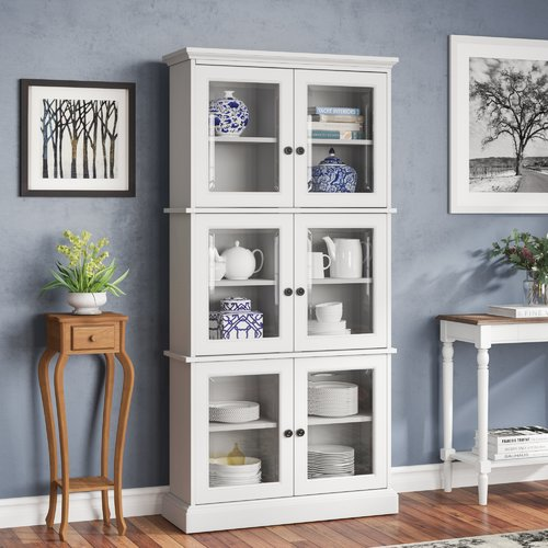 Charlton Home Alyce Display China Cabinet by