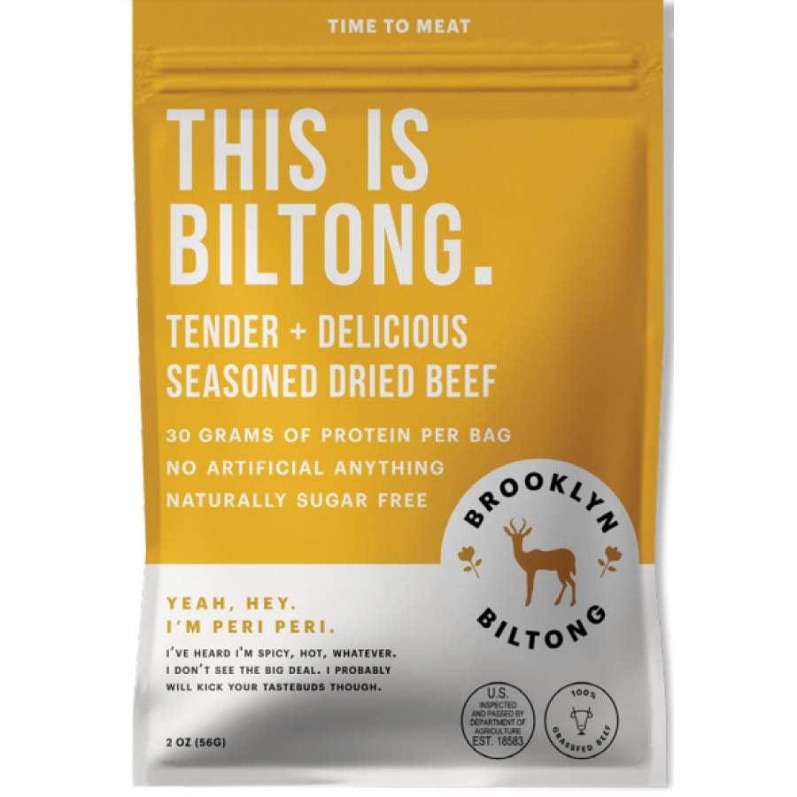 Brooklyn Biltong Seasoned Dried Beef - Zulu Peri Peri