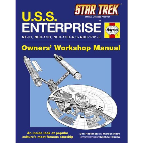 Star Trek U.s.s. Enterprise: Owner's Workshop Manual