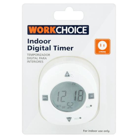 Work choice indoor digital timer walmart work choice indoor digital timer sciox Images