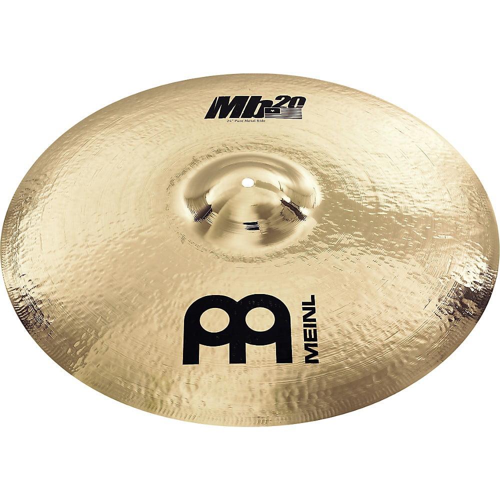 Meinl Mb20 Pure Metal Ride Cymbal 24 in.