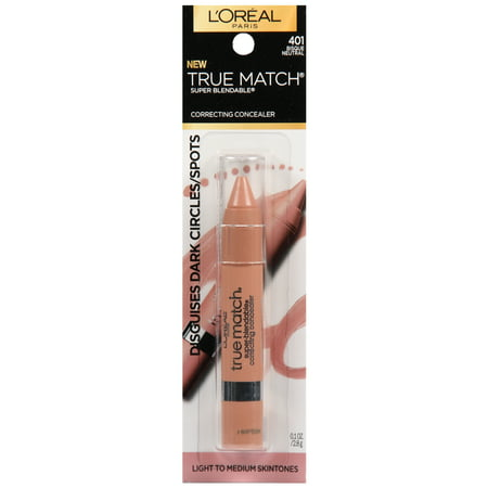 L'Oreal Paris True Match Super Blendable Correcting Concealer,