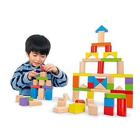 Imaginarium Wooden Block Set   75 Piece