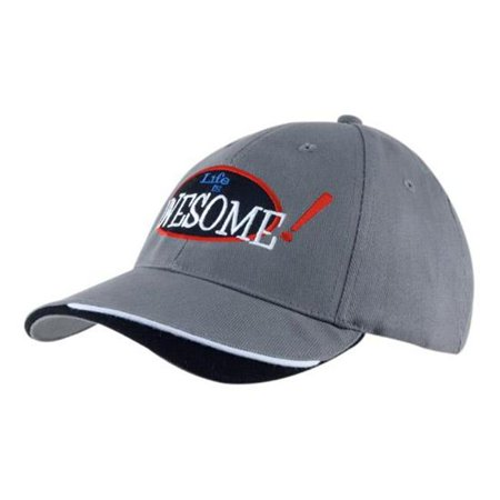 Headwear USA 4167 Brushed heavy cotton twill with indented visor