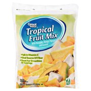 Great Value Tropical Frozen Fruit Mix, 48 oz