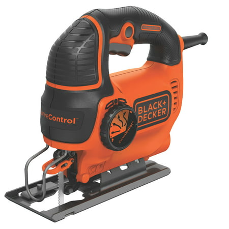 BLACK+DECKER Curve Control 5-Amp Jig Saw,