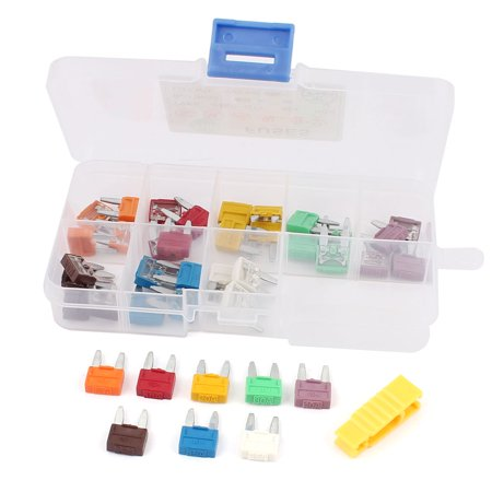 40 Pcs Multi Color Auto Car ATC  Fuses 5A 7.5A 10A 15A 20A 25A 30A 40A