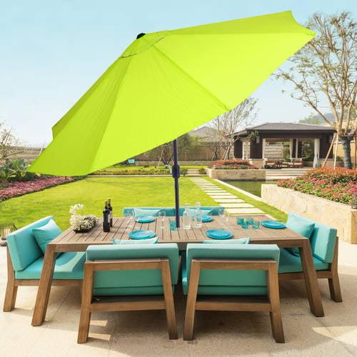Pure Garden 10' Aluminum Patio Umbrella with Auto Tilt by Trademark Global LLC