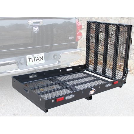 Hitch Mounted Wheelchair Scooter Mobility Carrier Medical Rack Ramp MC500 SC500 (Chair Carrier)