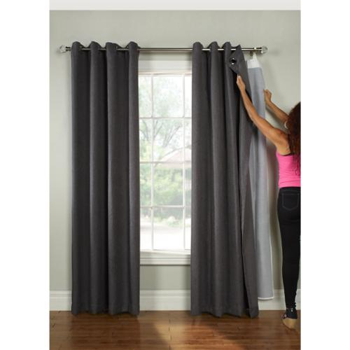 Walmart Blackout Curtain Liner Thermal Backed Drapes Liners