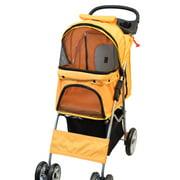 VIVO Four Wheel Pet Stroller / Cat & Dog Foldable Carrier Strolling Cart