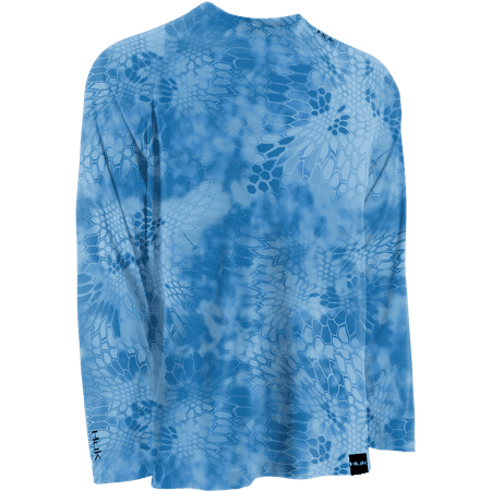 4638590606e HUK - HUK Fishing Kryptek LoPro Performance Raglan Long Sleeve Shirt -  Walmart.com