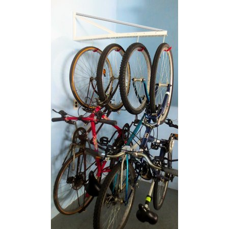 (Garage Hanging Bicycle Rack with Extension)