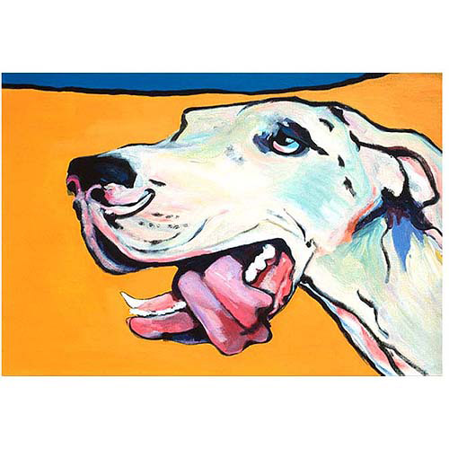 "Trademark Art ""Ol' Blue Eye"" Canvas Art by Pat Sanders-White, 22x32"