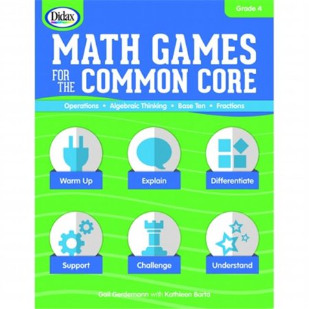 Didax Math Games for the Common Core - Grade 4
