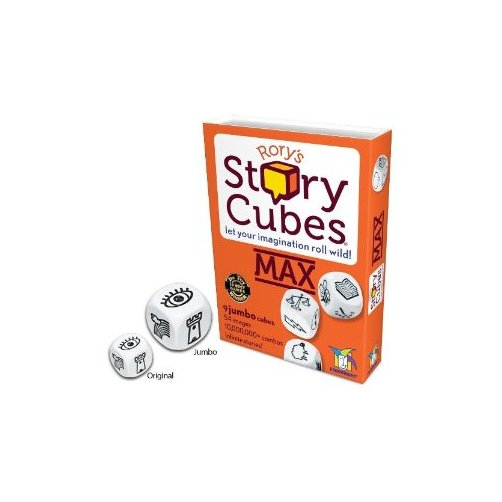 Rorys Story Cubes MAX Multi-Colored