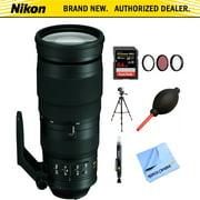 Nikon AF-S FX Full Frame NIKKOR 200-500mm f/5.6E ED Zoom Lens (20058) with 64GB Bundle