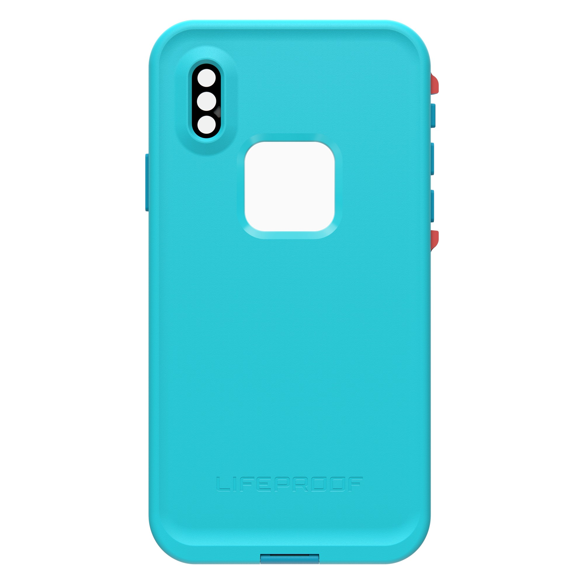 best sneakers b4af5 08b00 LifeProof iPhone Xs Blue/Orange (Boosted) Fre case - 77-59638