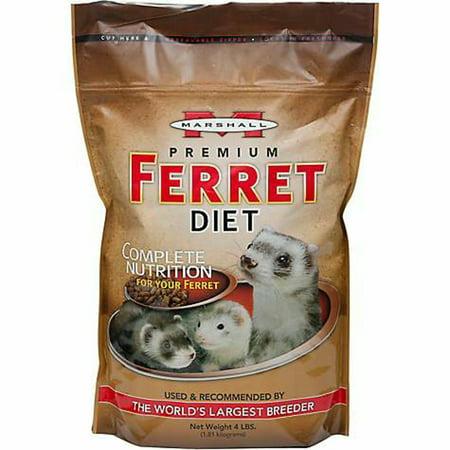 Marshall Premium Ferret Diet - Marshall Premium Ferret Diet Food, 8lb (2 x 4lb)