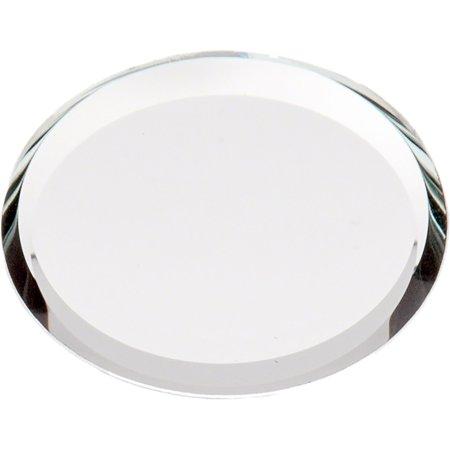 Beveled Glass Mirror, Round 3mm - 1