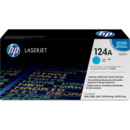 HP, HEWQ6001A, 124A LaserJet Toner Cartridges, 1 Each (Hp Laserjet P2035 Toner)
