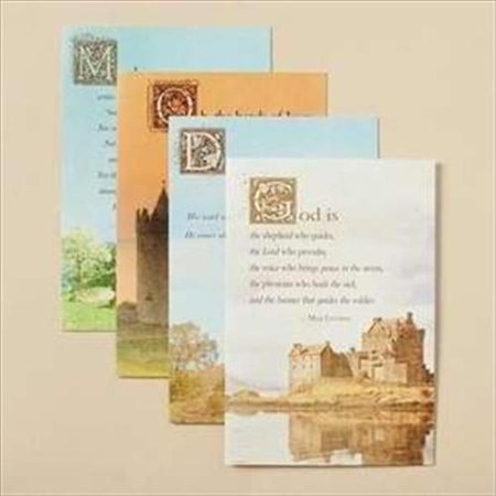 3 Max Cards - Get Well - Inspirational Boxed Cards - Max Lucado - Healing Touch