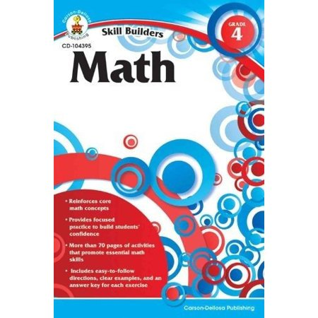 Carsondellosa Com (Skill Builders Math Workbook, Grade 4, 9.00L 6.00W 0.1875H By)
