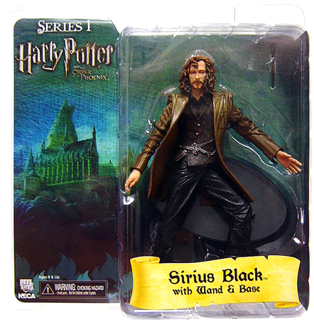 NECA Harry Potter Series 1 Sirius Black Action Figure by