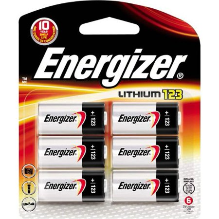123 Lithium Battery  6 Count  Ship From Usa Brand Energizer