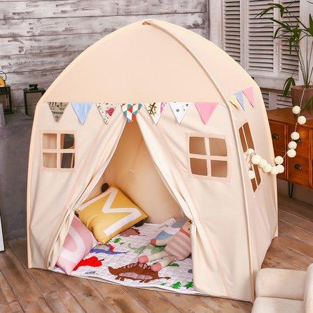 Lovetree Kids Portable Indoor Outdoor Princess Castle Playhouse Tents  Large