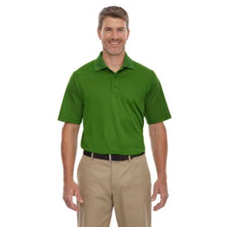 Ash City - Extreme Men's Eperformance™ Stride Jacquard Polo - VALLEY GREEN 448 - 5XL 85116