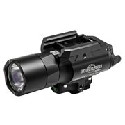 Surefire X400 Ultra LED WeaponLight w/Green Laser 500 Lumens Alum Blk, X400UAGN