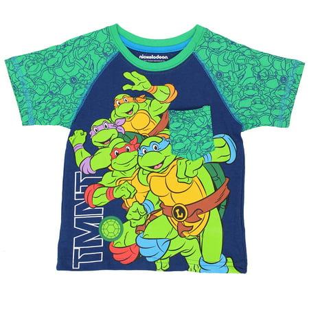 TMNT Teenage Mutant Ninja Turtles Toddler Boys Short Sleeve Tee 6NT6901