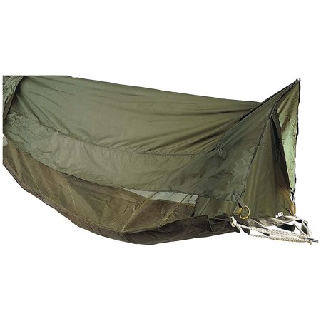 High Supply Military Style Jungle Hammock, Shelter, Mosquito Bug Netting Olive Drab 78