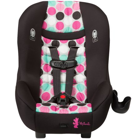 Disney Baby Scenera NEXT Luxe Convertible Car Seat Minnie Dotty