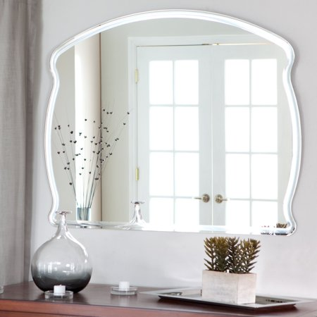Décor Wonderland Frameless Diane Wall Mirror - 39.5W x 31.5H in.