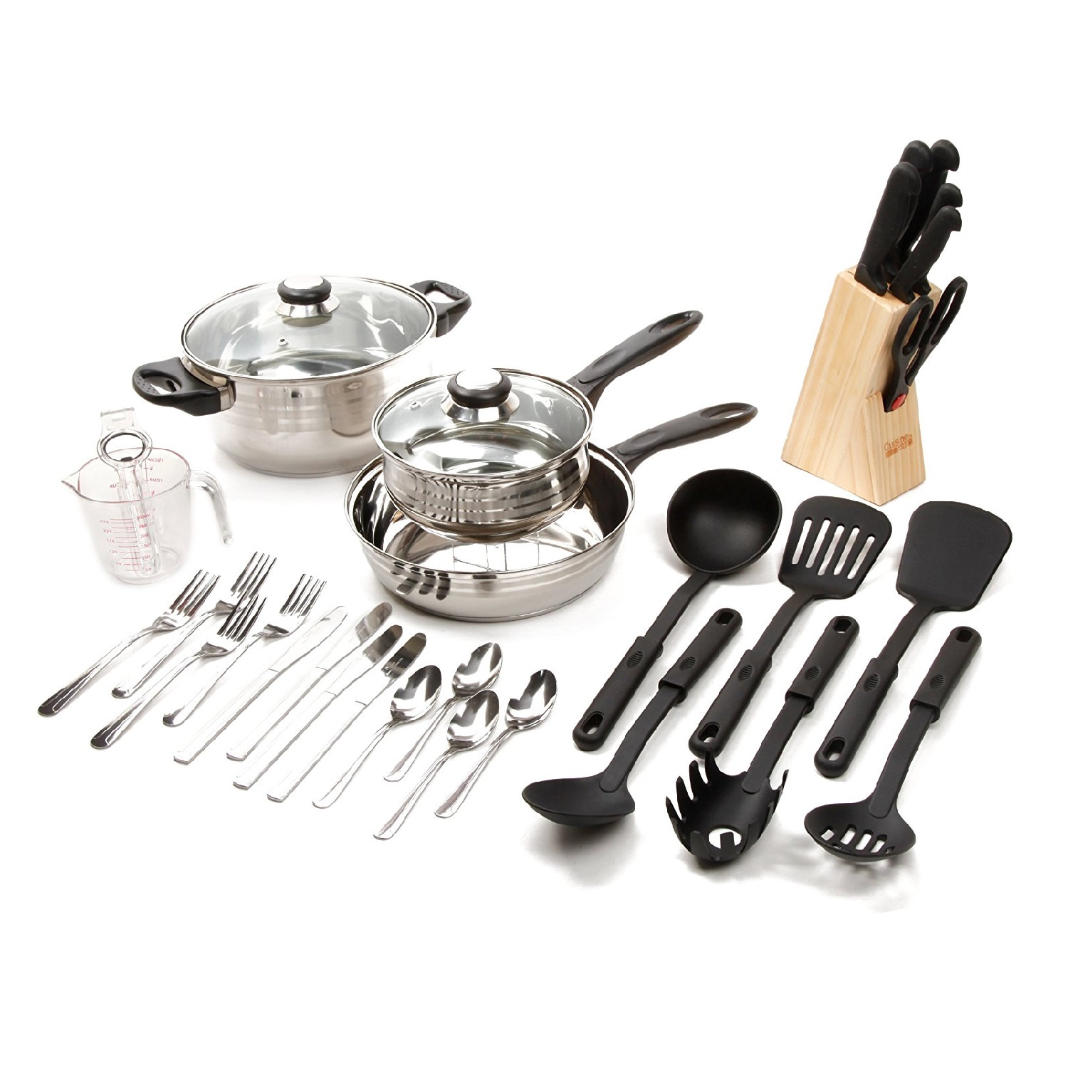 Gibson Lybra 32 Pc. Cookware Set