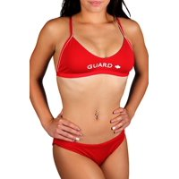 Adoretex Women's Polyester Guard Workout Bikini Two-Piece Swimsuit in Multiple Colors, Multiple Sizes