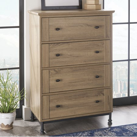 Better Homes And Gardens River Crest 4 Drawer Chest Scenic Oak Finish