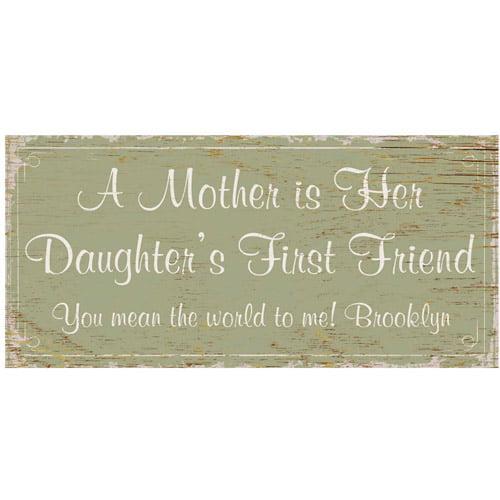 Personalized First Memories Coffee Mug, 15 oz - Daughter