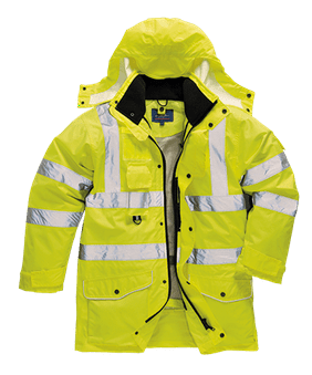 Portwest HiVis 7in1 Traffic Jacket