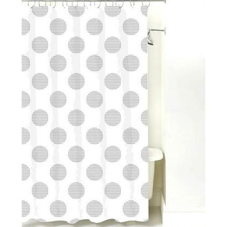NECR Print Modern Dot Cotton Shower Curtain