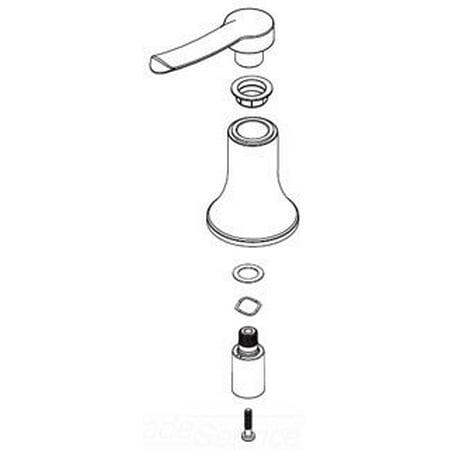 - 139760BN Handle kit Brushed Nickel  (BN)