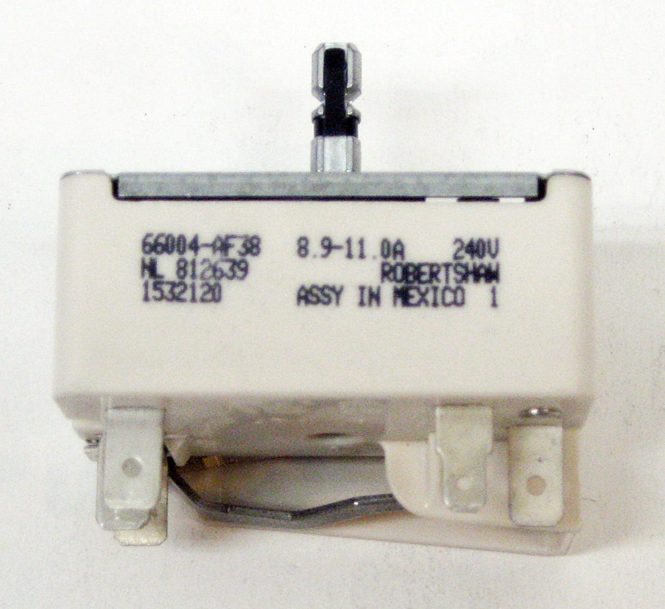 Range Burner Infinite Control Switch for Whirlpool WP3149400 AP6007666 PS11740783