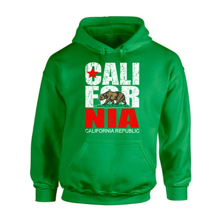 Awkward Styles California Republic Hooded Sweatshirt California Hoodie Unisex Cali Gifts California Bear Hoodie Sweater California Republic Sweater Gifts from California - Bear Hoodie
