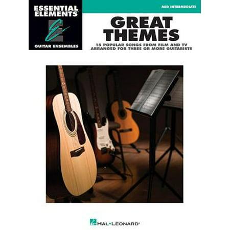 Guitar Ensemble Series - Great Themes : Essential Elements Guitar Ensembles