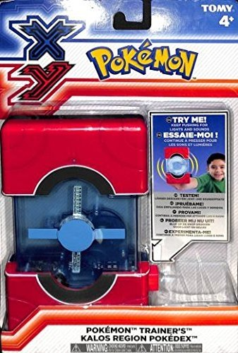 Pokemon Trainers Kalos Region Pokedex Lights and sounds