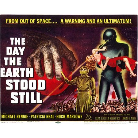 The Day The Earth Stood Still (1951) 11x14 Movie - Earth Day Poster Ideas