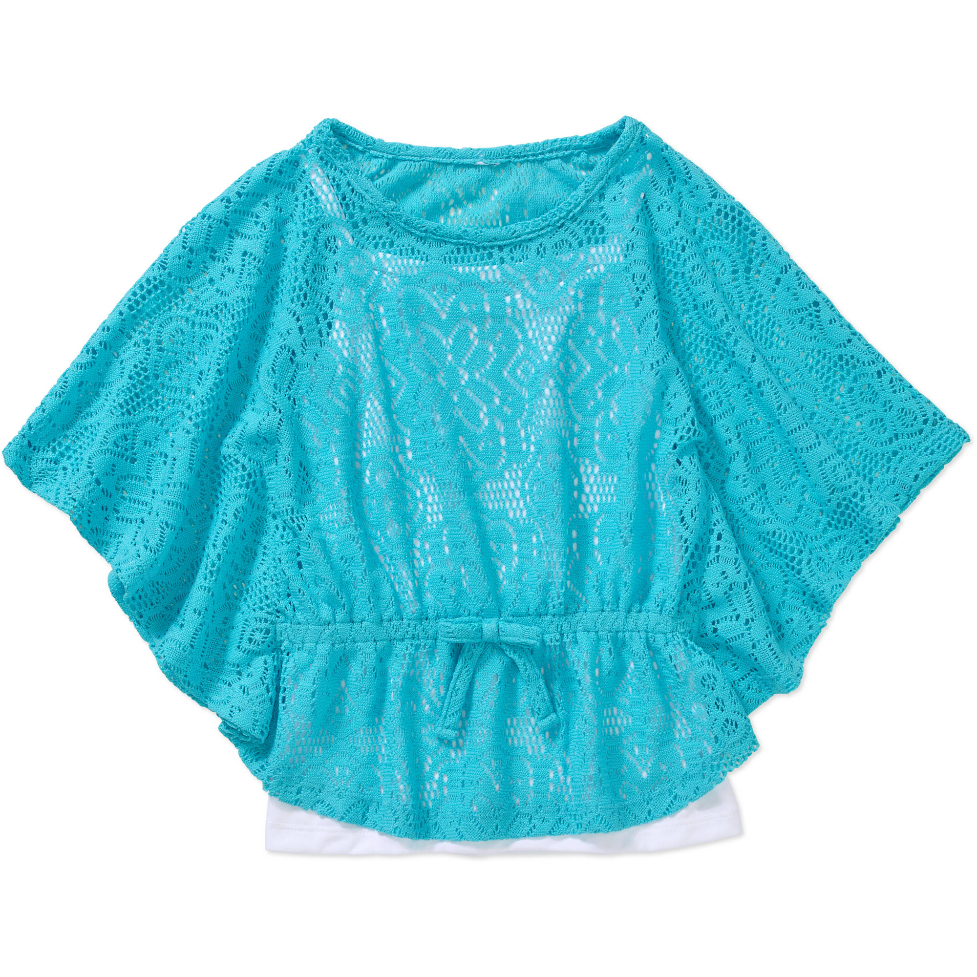 Healthtex Toddler Girl Flutter Sleeve Circle Woven Fashion Top
