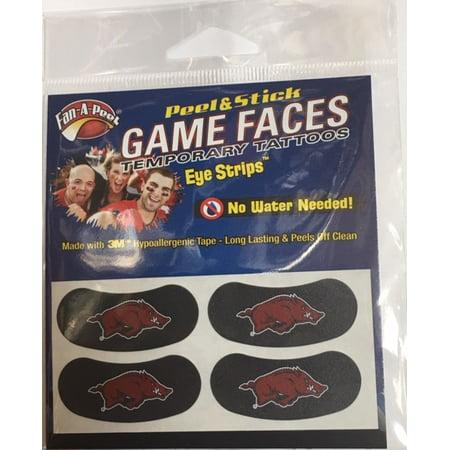Ncaa Arkansas Eye Black](Football Eye Black)